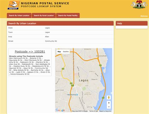 Find In Nigeria Got Postal Code Issues In Nigeria Follow These 3 Simple
