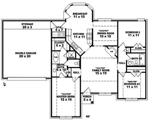 floor plans for 1 story homes suffolk place ranch home plan 087d 0074 house plans and more