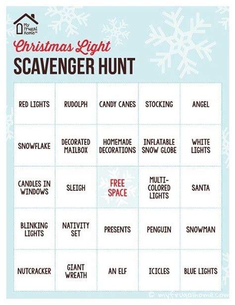 printable reindeer scavenger hunt 1000 ideas about christmas scavenger hunt on pinterest