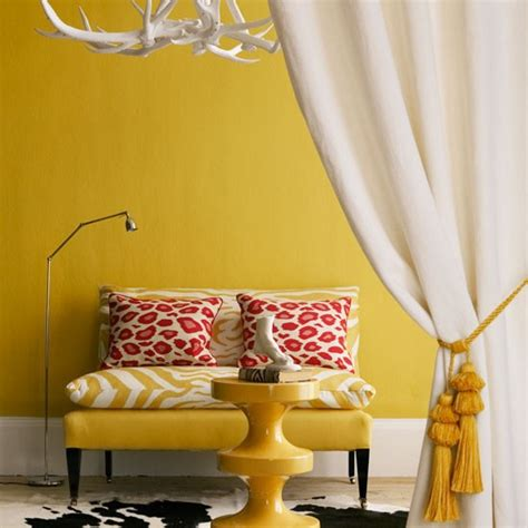 Yellow Gold Living Room by How To Add Colour To Your Living Room Colourful Living