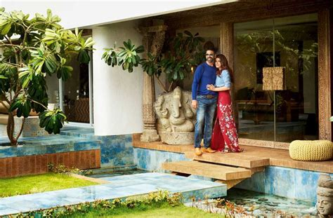 Home Interior Denim Days Bollywood Couple Akshay Kumar Amp Twinkle Khanna