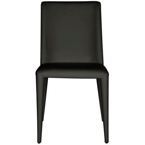 black leather side chair safavieh garretson black leather side chair set of 2