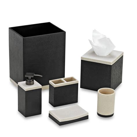 black bathroom accessories 1
