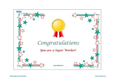 congratulations certificate congratulations worker certificate tmk education