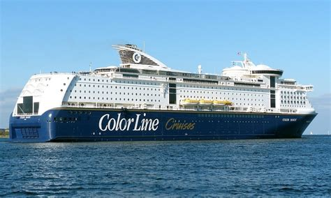 color line color magic ferry color line cruisemapper