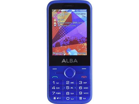 mobili alba alba sim free 2 8 inch simple mobile phone review which