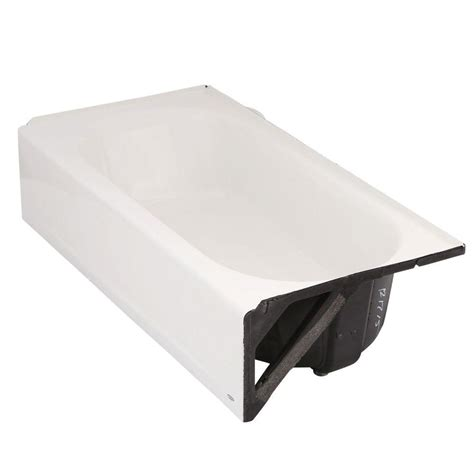 american standard americast bathtub american standard princeton 5 ft americast right hand drain bathtub in white 2391