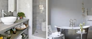 id 233 es d 233 co pour une salle de bain grise deco cool