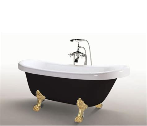vasca da bagno nera vasca tradizionale da bagno stile classico retr 242 170x80 in