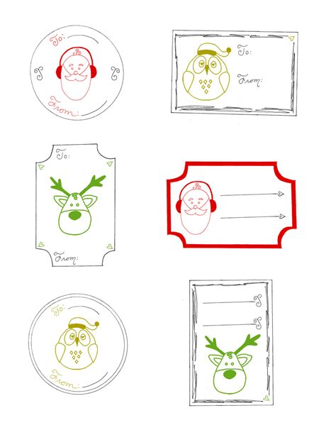 printable christmas cards pdf christmas gift tags printable free printable christmas
