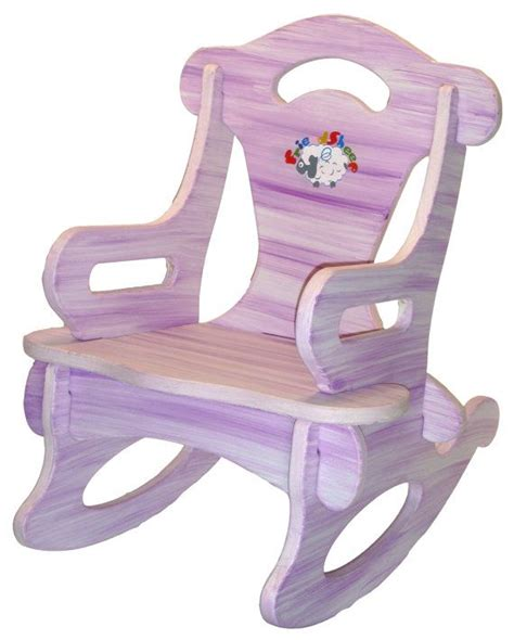 purple toddler rocking chair purple puzzle rocker rocking chair solid wood for kid