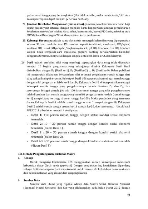 analisis data kemiskinan di indonesia 2013 analisis data kemiskinan di indonesia 2013