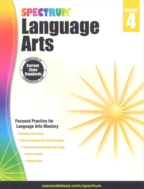 theme for language art show 2015 spectrum language arts 2015 grade 4 002159 details
