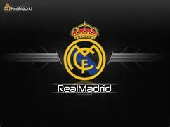 Real Madrid Logo Black