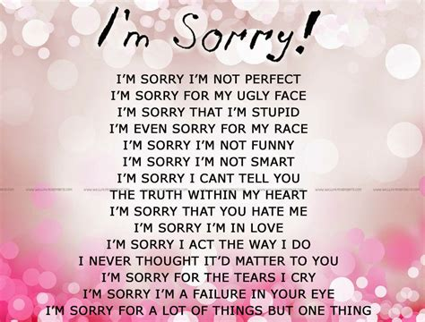 i you quotes for sorry for being me quotes quotesgram