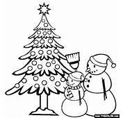 Christmas Coloring Page  Free Online