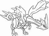 Coloriages Pokemon - Kyurem - Dessins Pokemon