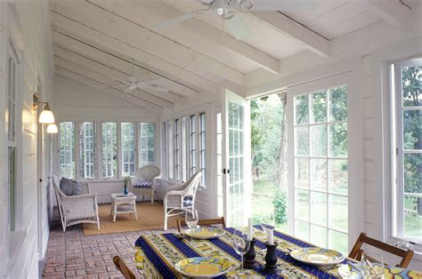 rugs for sunrooms sun porch furniture sunroom traditional with baseboard colorful area rug beeyoutifullife
