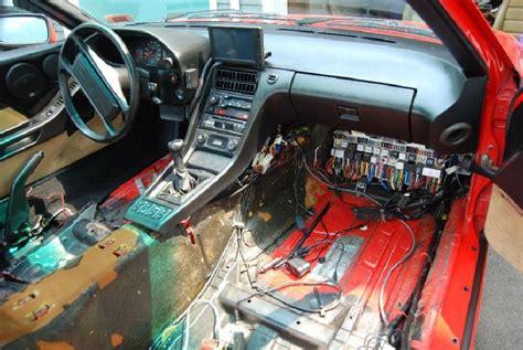 porsche 928 interior restoration your 928 restoration efforts post your before after
