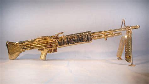 wallpaper gun gold versace m60 by peter gronquist on deviantart