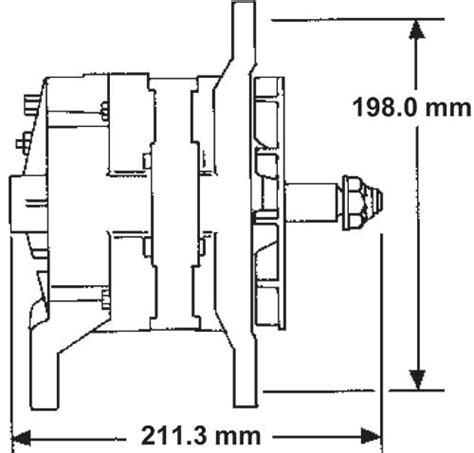26si 21si Alternator Specifications Delco Remy