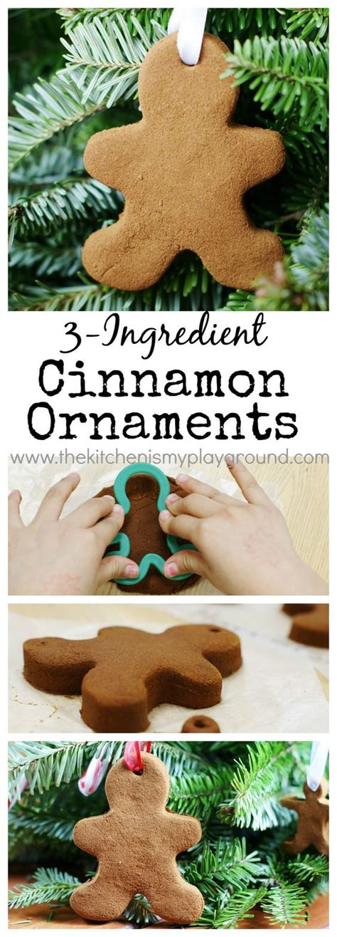 no bake cinnamon ornaments the world s catalog of ideas