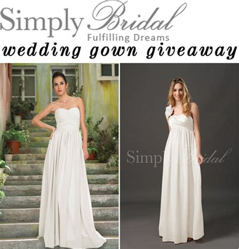 Wedding Dress Sweepstakes - wedding dress giveaway newest navokal com