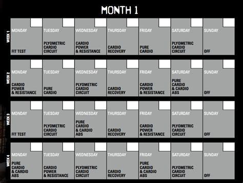 Insanity Calendar Insanity Calendar 60 Day Insanity Workout Schedule