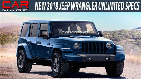 diesel jeep wrangler 2018 jeep wrangler unlimited diesel review and release