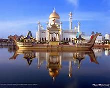 Brunei Sultan Omar Ali Mosque