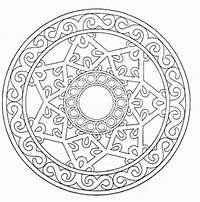 Mandala Coloring Pages 015