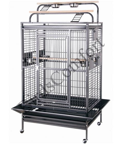 medium cage hq playtop medium bird cage 36x28 by birdscomfort
