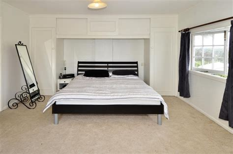 Bed With Built In Wardrobe by Built In Wardrobes Around Bed Bedroom From Scratch
