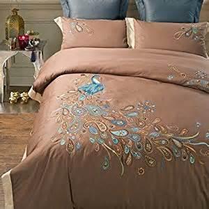Peacock Bed Set Fadfay Home Textile Peacock Print Bedding Set Peacock Design Bedding Peacock