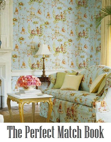matching wallpaper and curtains fabrics perfect match decoratorsbest blog