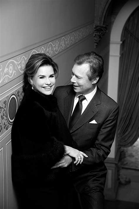 Grand Duke Henri and Grand Duchess Maria Teresa celebrate