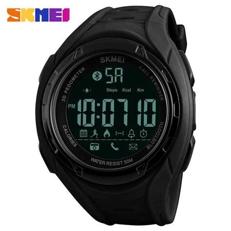 Jam Tangan Bluethoot by Jual Jam Tangan Pria Skmei Digital Smart Bluetooth