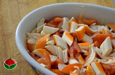 cucinare polpa di granchio polpa di granchio alla catalana ricetta facilissima