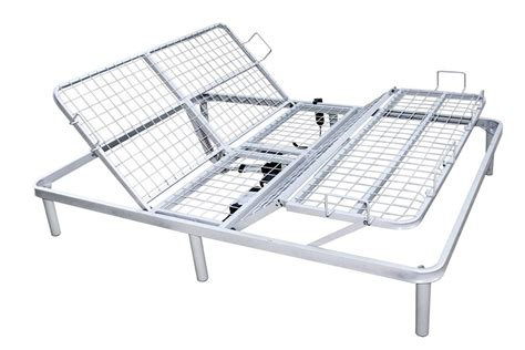 Motorized Bed Frame with Boost Motorized Adjustable Bed Frame With Wireless Controls The Futon Shop