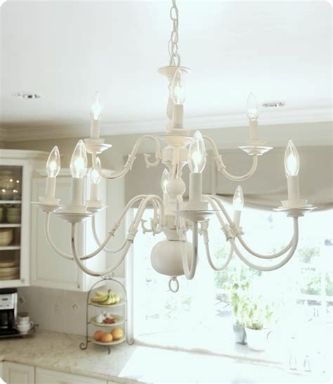 my kitchen s new old light fixture make over thrift brassy to classy my free chandelier centsational girl