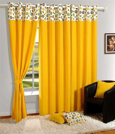 Window Curtain Online by Swayam Solid Eyelet Curtain Buy Swayam Solid Eyelet