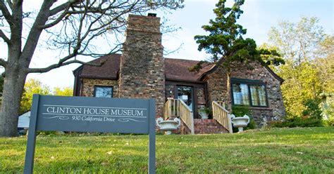 clinton house museum tour the clinton house museum in arkansas