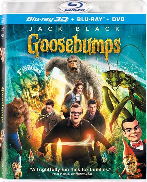 film blu ray 3d goosebumps 3d blu ray
