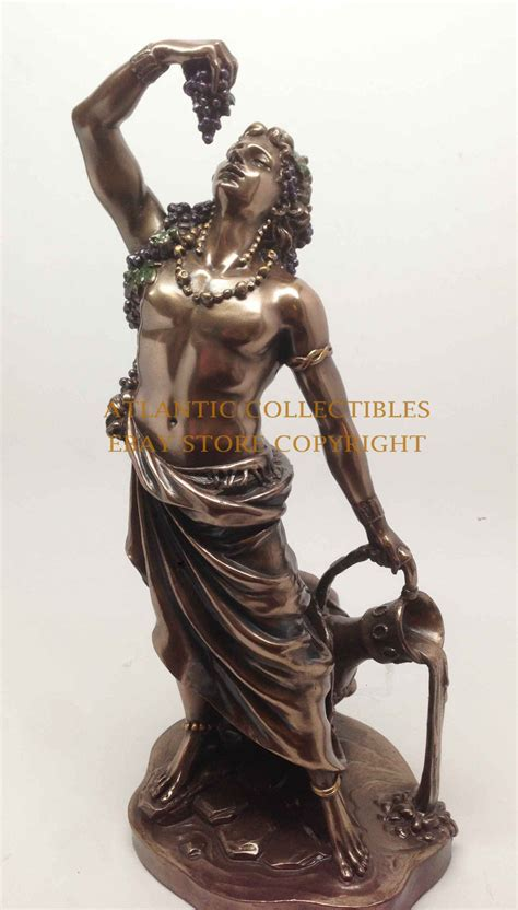 dionysus greek god statue greek god of wine dionysus bacchus figurine decorative