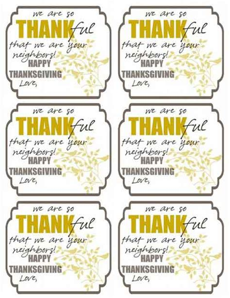 printable turkey gift tags thanksgiving printables 31 free sets of fall themed designs