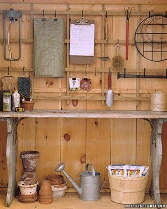 Garden Shed Organization Ideas Tips For Organizing Your Garden Shed Organization Pinterest