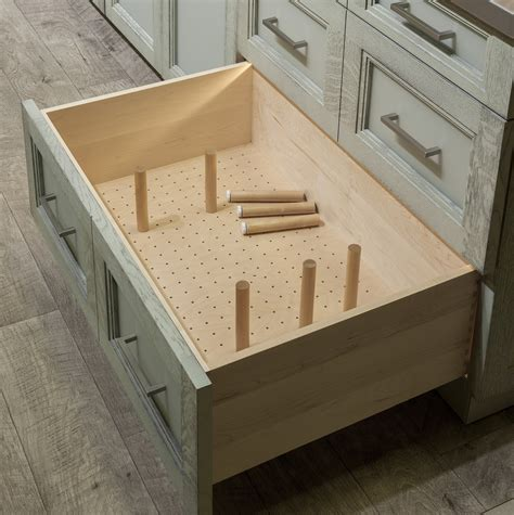 Plate Drawer Dividers by Organize Your Cabinets Custom Cabinets