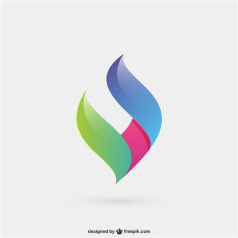 colorful logos abstract and colorful logo vector free
