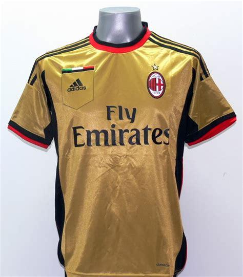 Ac Milan Gold by Jersey Ac Milan Gold 13 14 Jual Jersey