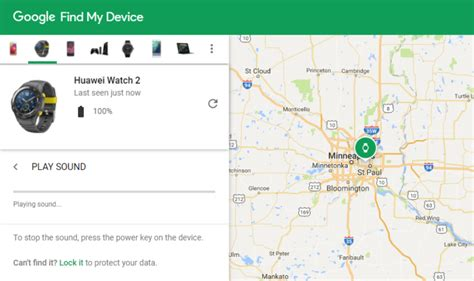 Find My Device Reminder You Can Find Your Android Wear From Your